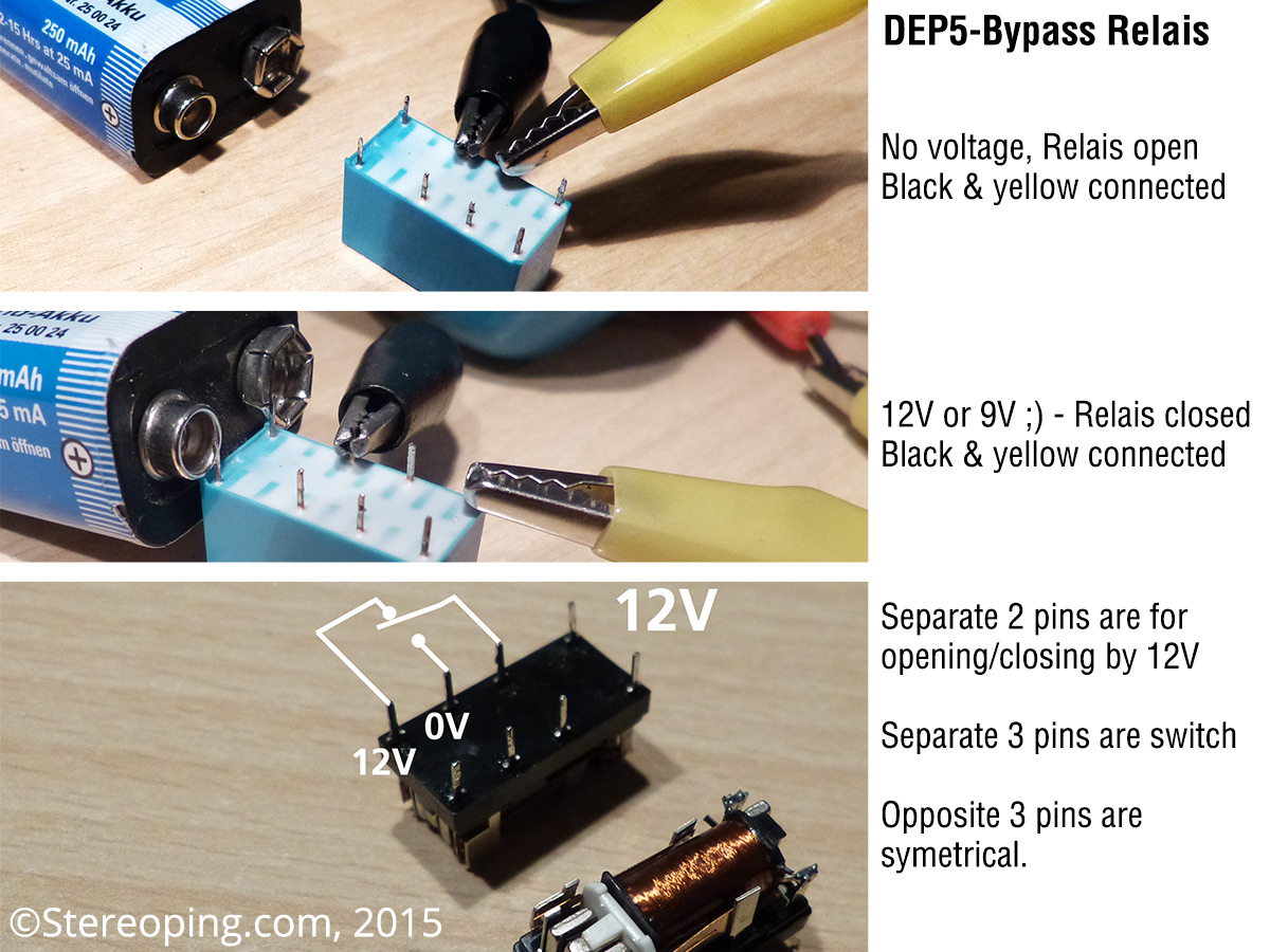 Roland Dep 5 Bypass Relay Repair Stereoping Music Devices Start Switch Pin Description