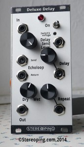 Stereoping Deluxe Delay Protoype 1 - 02/2014