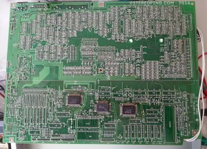 GP-8 - solderside of PCB - wow, very clean design