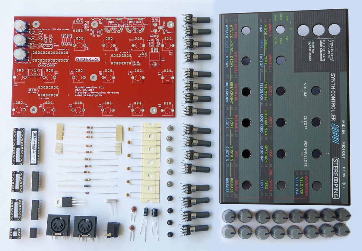 Synth Controller Complete Diy Embly Kit