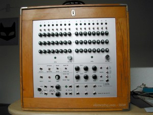 16 Step analogue Sequencer in total