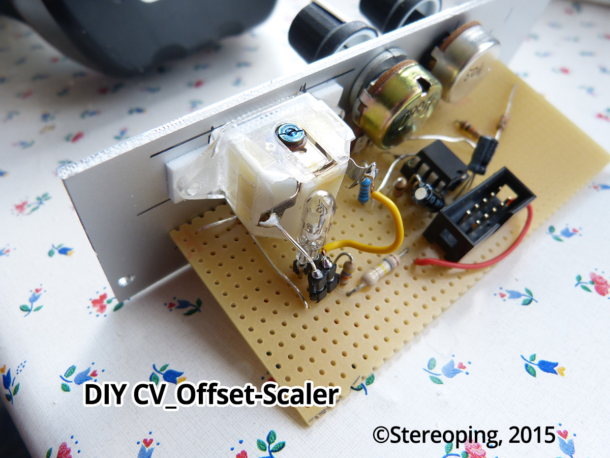 Eurorack Diy Offset Scaler Stereoping Music Devices How To Build Vu Meter 2 Cv Detail