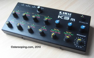 Finished Kawai K3 hardwarecontroller