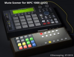 Mute Scener for Akai MPC - thats what it should look like