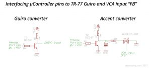 Guiro and Accent helper circuits