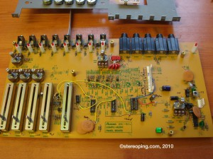 CMU800 - one of the 2 pcbs which are attached back on back