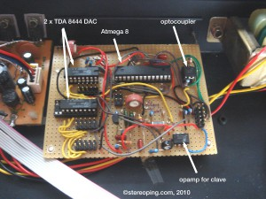 CMU800 - simple Midiinterface - unfortunately the TDA8444-I2C-DAC is not manufactured anymore