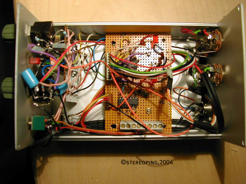 Stereo Lowcost Opto Compressor inside